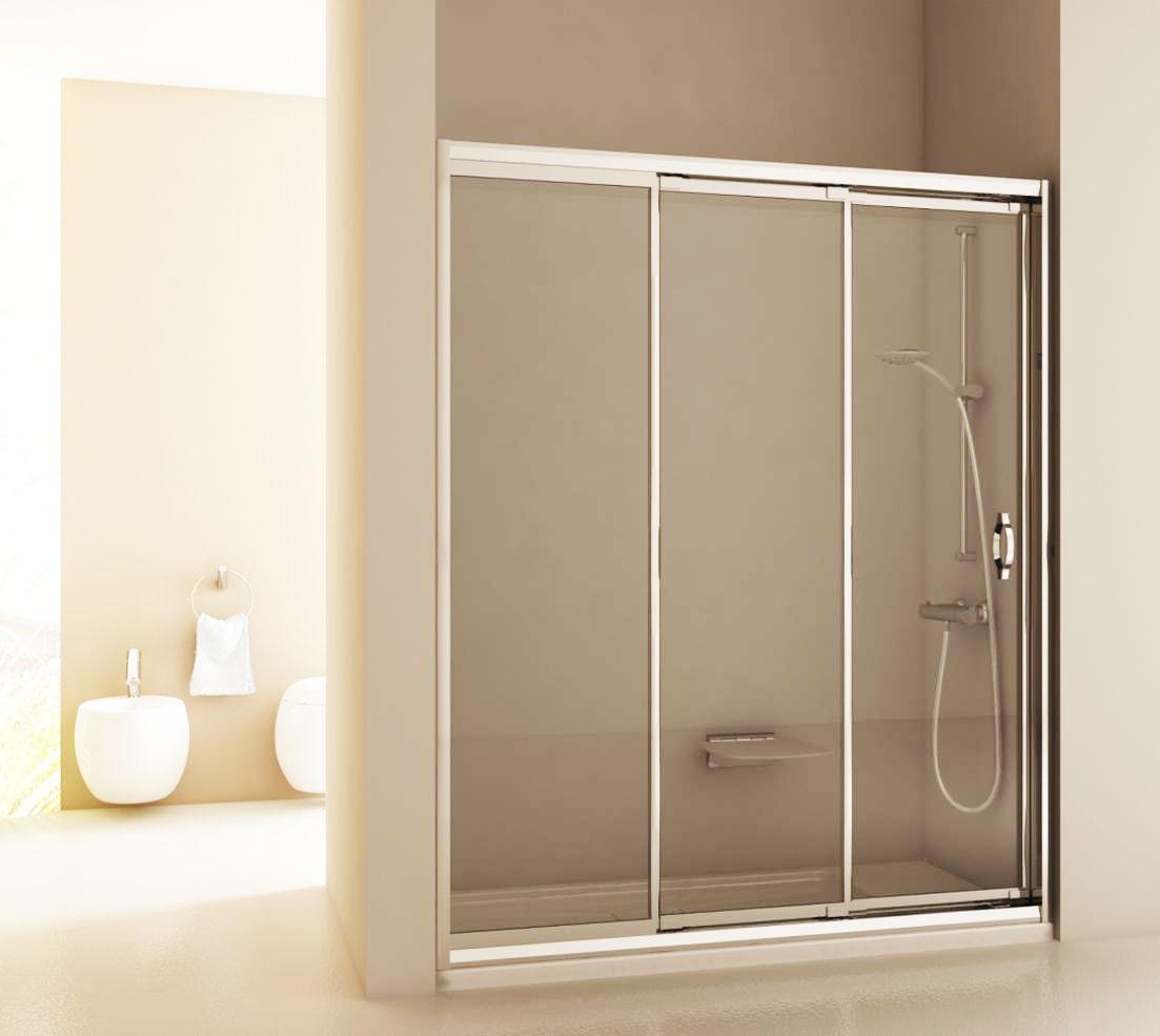 Modernes Bad Dusche